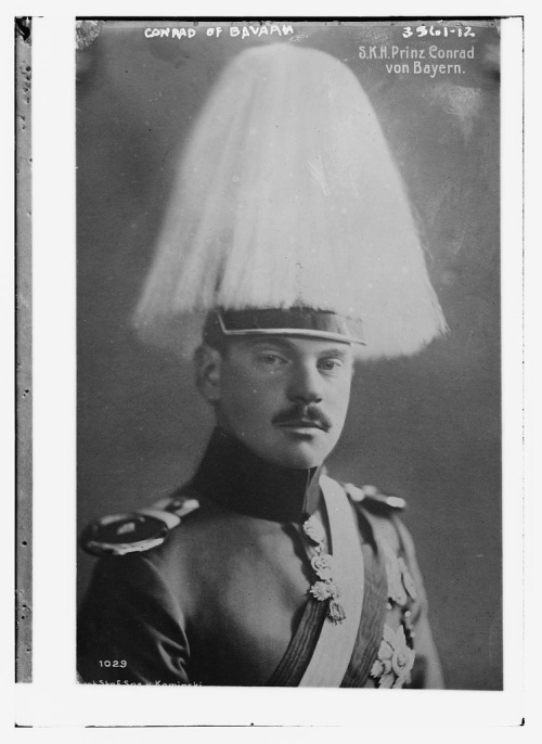 Photograph of Conrad of Bavaria, circa 1910-1915