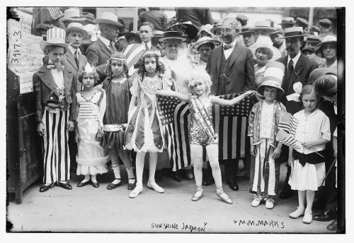 July 4th children's show circa 1925